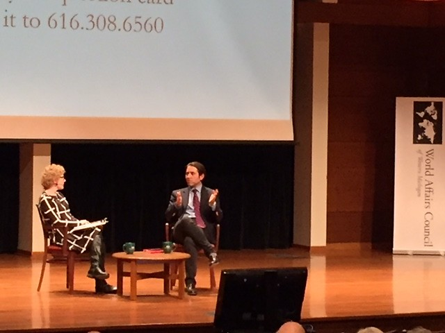 Dr. Sinan Ciddi discussed U.S.-Turkey relations on Feb. 12