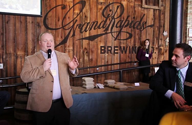 Daniel Schoonmaker, director of the West Michigan Sustainable Business Forum board