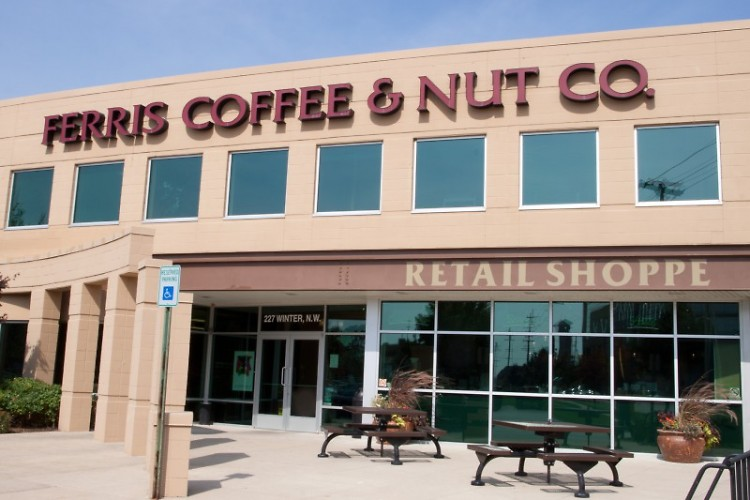 Ferris' retail shop offers more than just coffee and nuts.