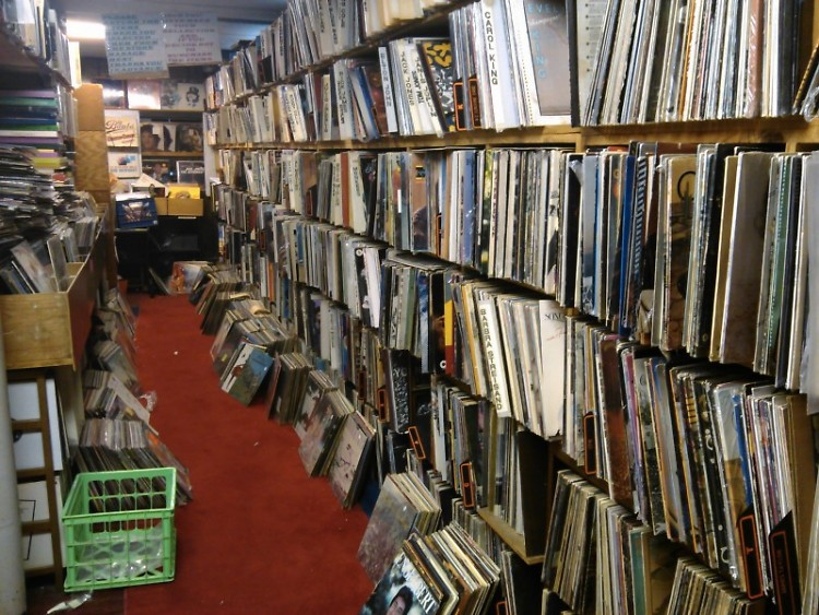 One hall of vinyl in Dodds
