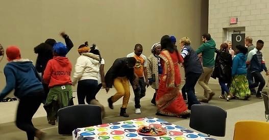 Irish dancing