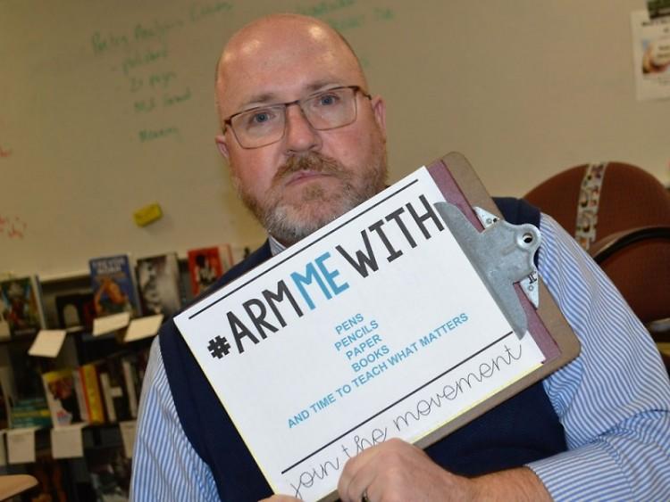 Jeffrey Larsen, a high school teacher from Lowell