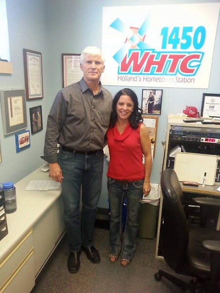 Jennifer Franson met with WHTC host Dave Agema to discuss the race.