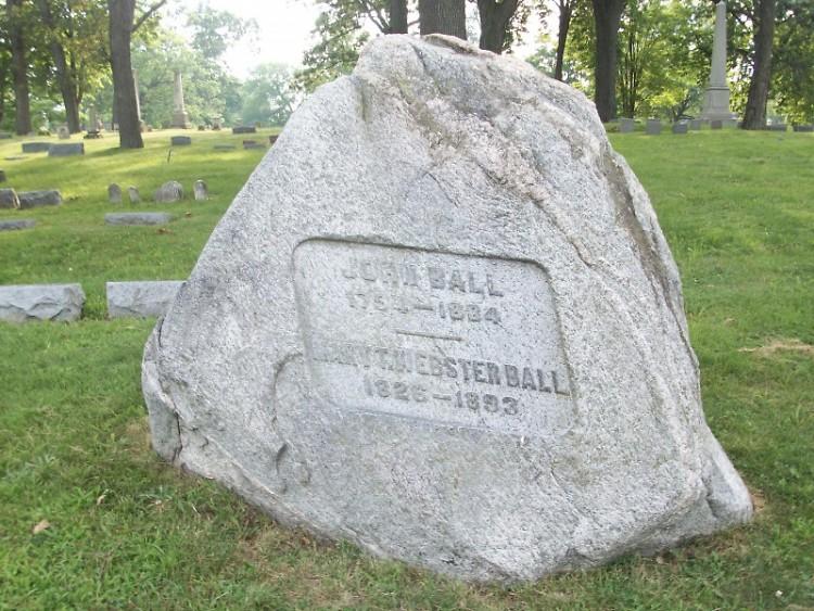 John Ball's grave