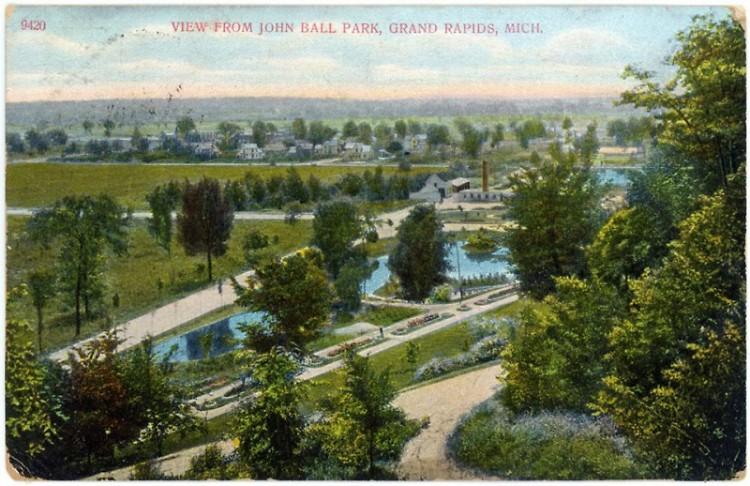 Postcard of John Ball Park
