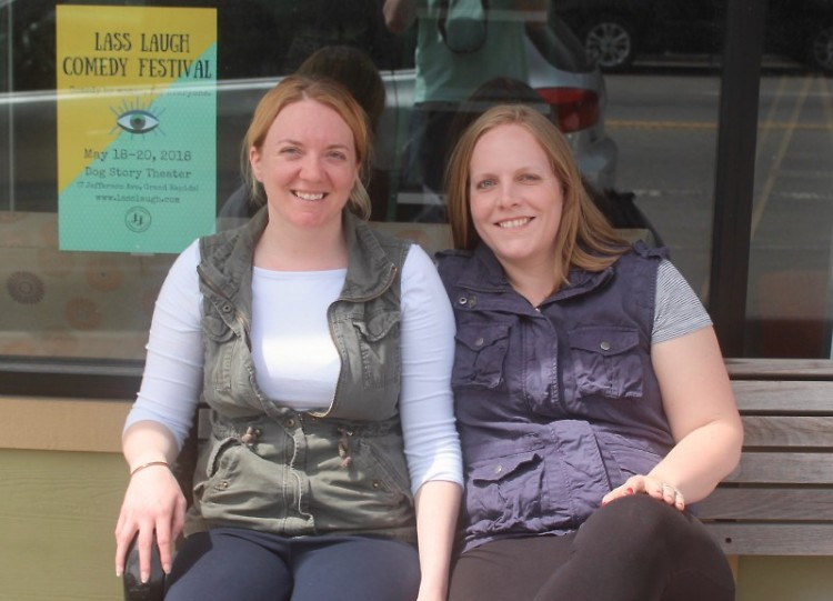 Amy Gascon (left) and Kristin Hirsch (right)