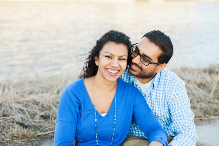 The Rapidian's new Managing Editor, Kiran Sood Patel and her husband, Amar Patel