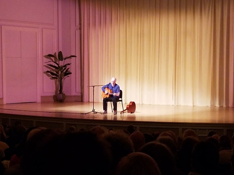 Leo Kottke at St. Ceclia Music Society Thursday evening