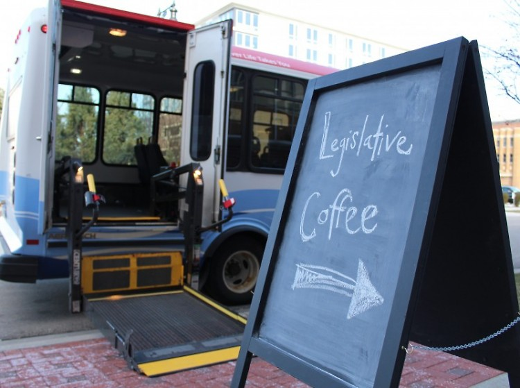 The Rapid Go!Bus helped some attendees get to the event.