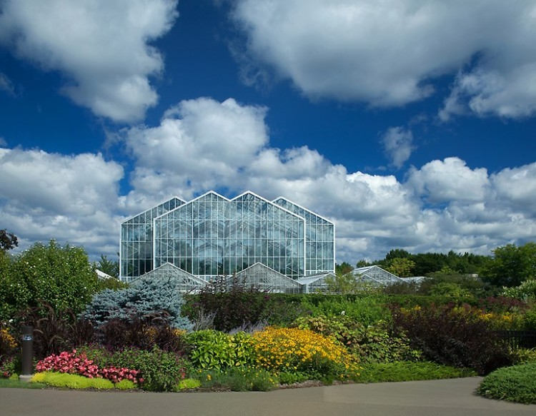 The Lena Meijer Tropical Conservatory at Frederik Meijer Gardens & Sculpture Park