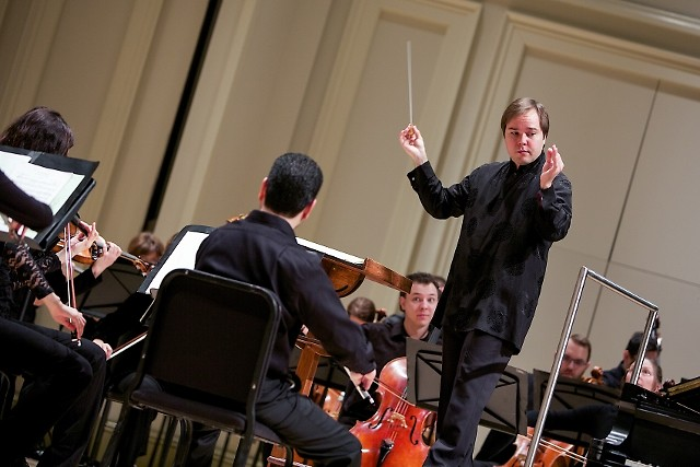 Music Director Marcelo Lehninger leads the Grand Rapids Symphony's Great Eras series.