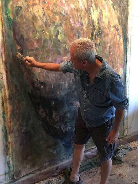 Michael K. Paxton, at work