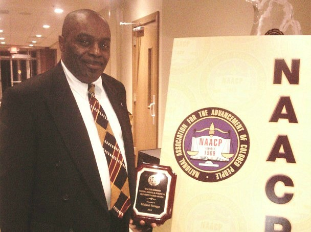 Michael Scruggs won the 2014 NAACP Walter Berman Voting Rights & Political Representation award.