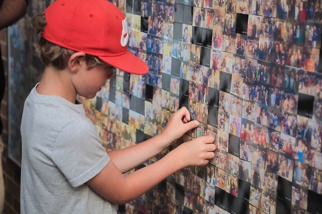 Celebrate Michigan's outdoor heritage and add your face to the Michigan Wildlife Photo Mosaic Wall at KidsDay at the Zoo.
