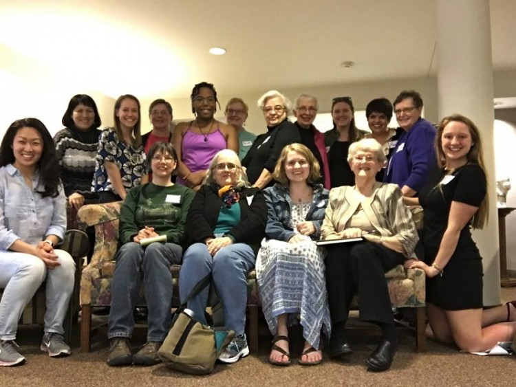Nuns and Nones gather at the Dominican Sisters