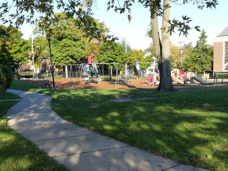 Campus Elementary playground