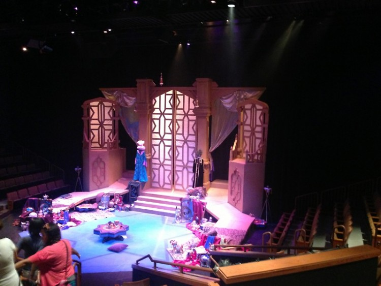 The Stage: The Treasure Room.
