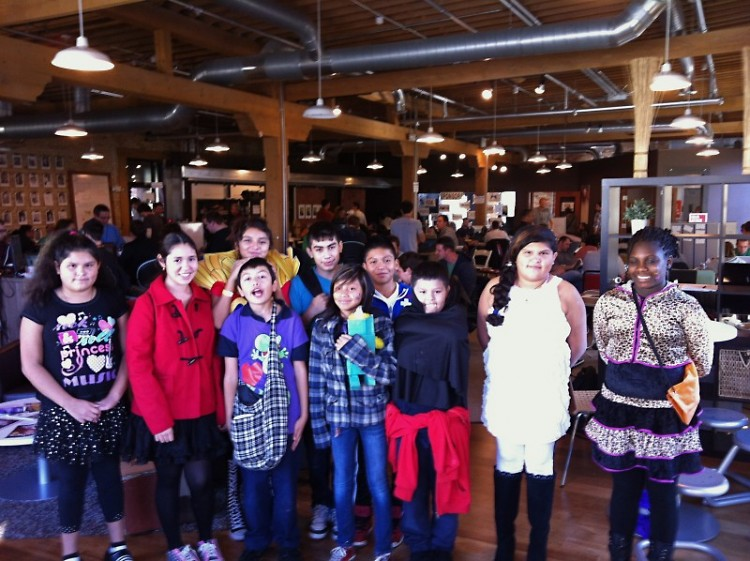 The GAAH Press Club visits GiveCamp