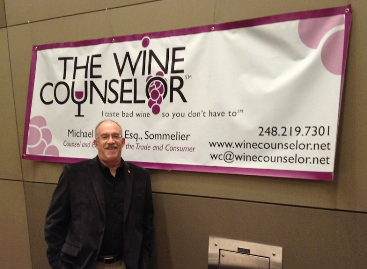 Michael Schafer at the International Wine, Beer, and Food Festival
