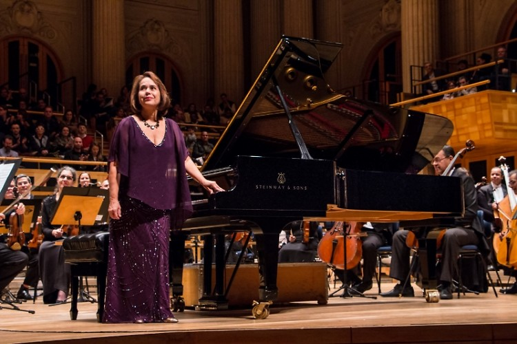Brazilian pianist Sonia Goulart joins Grand Rapids Symphony, May 17-18, to play Chopin's Piano Concerto No. 2