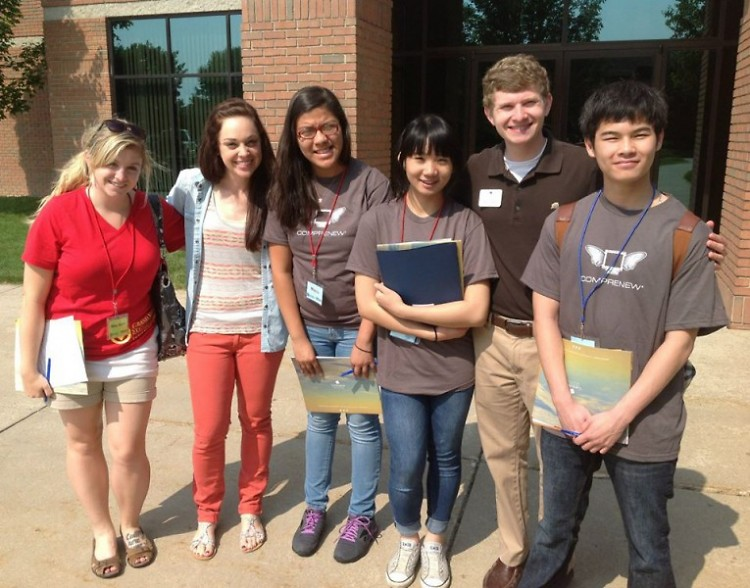 TRiO Talent Search Students Experiencing University Life