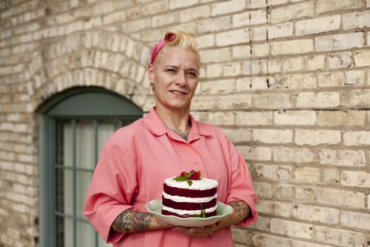 Jamie Springer, aka Pinky, Queen of Cakes