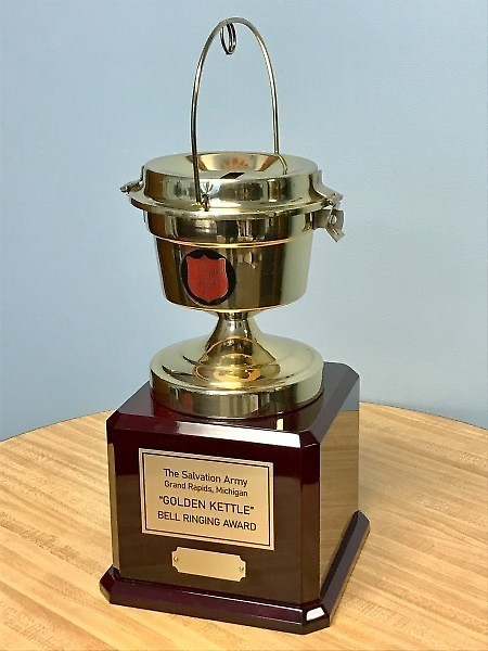 The 2020 Golden Kettle will be presented to the Kentwood Rotary Club.