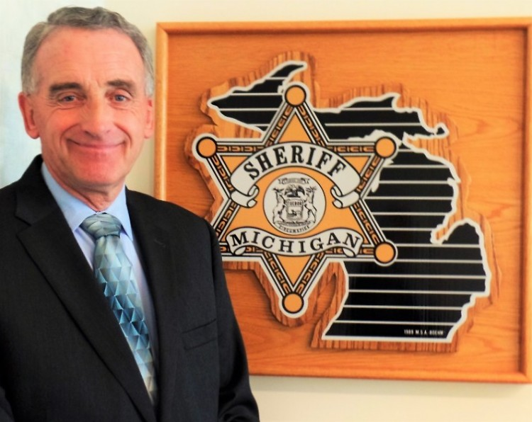Lawrence Stelma has served in the Kent County Sheriff's office since 1972.