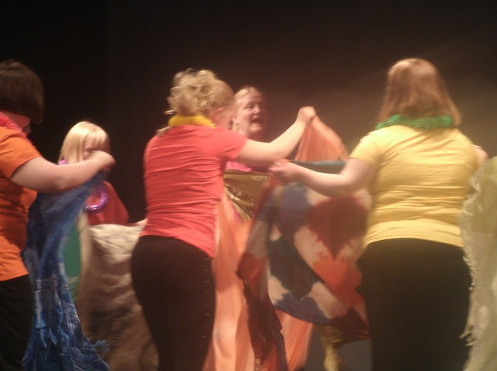Scarf dance by Arts in Motion Preformers