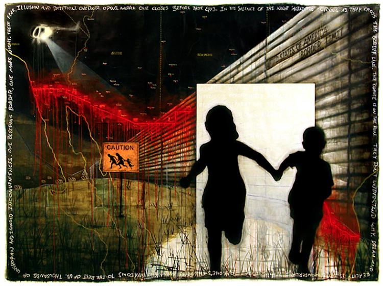 The Bleeding Border, Sergio Gomez