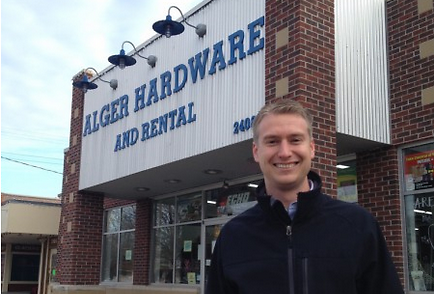 Nick Bakker, President of Alger Heights Business Association