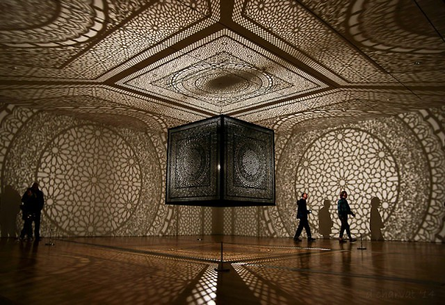 "Last year's winner in the public vote was Anila Quayyam Agha's ""Intersections."" Who will win this year?"
