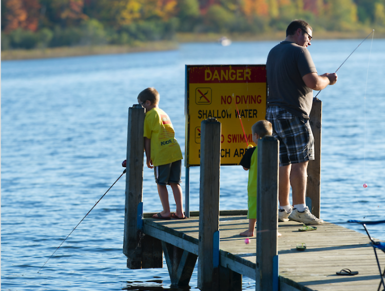 Many Michigan businesses depend on fishing to survive, including the bait shops, restaurants and hotels.