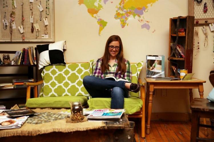 Megan Cloutier, sophomore bio-medical sciences major at Grand Valley State University.