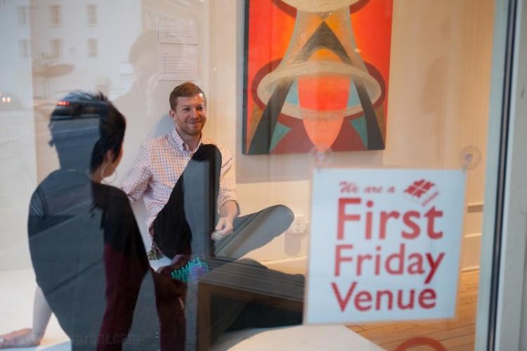 Spiral Gallery Owner Steven Vinson