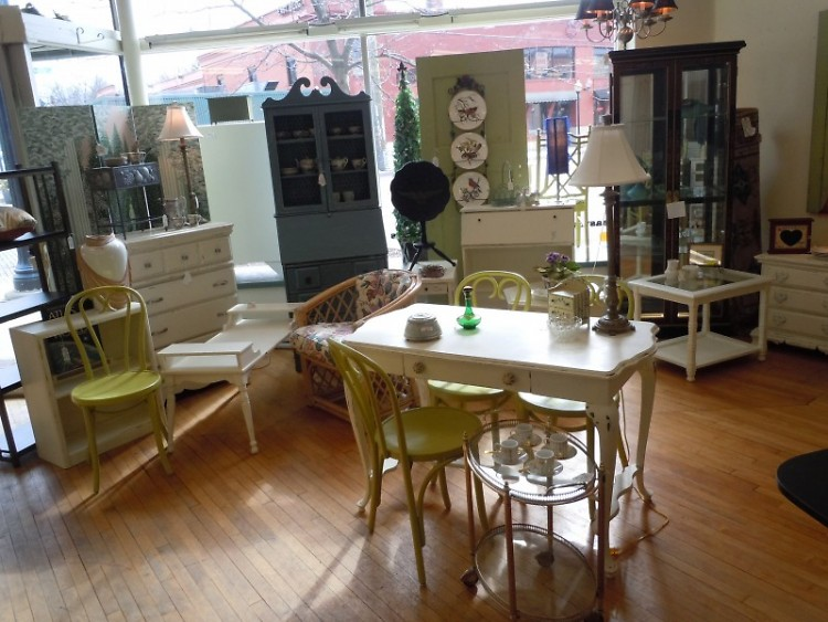 Owner Mike Dykhouse expects an influx of spring furniture this month.