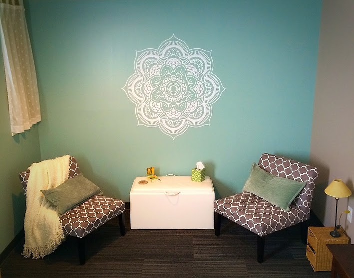 Therapy room at the Wellness Collective