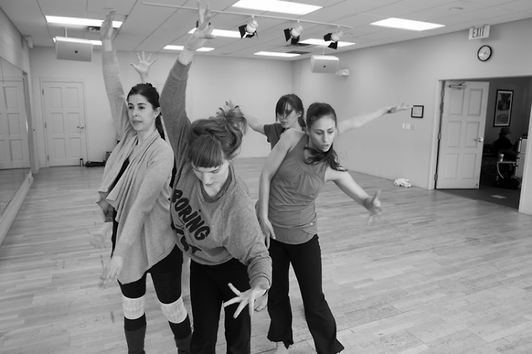 DITA dancers rehearsal