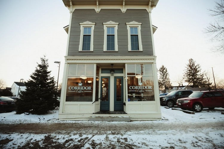 Corridor Coffee Shop located at 637 Stocking NW