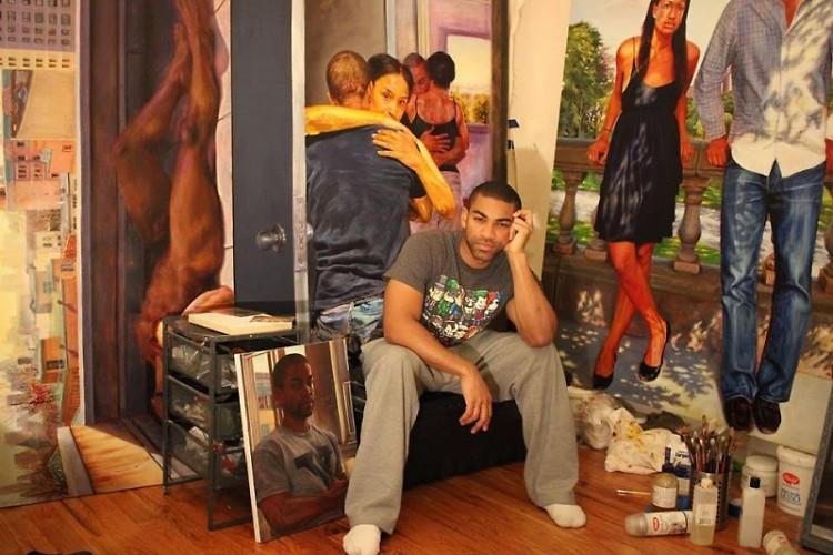 Artist Mario Moore