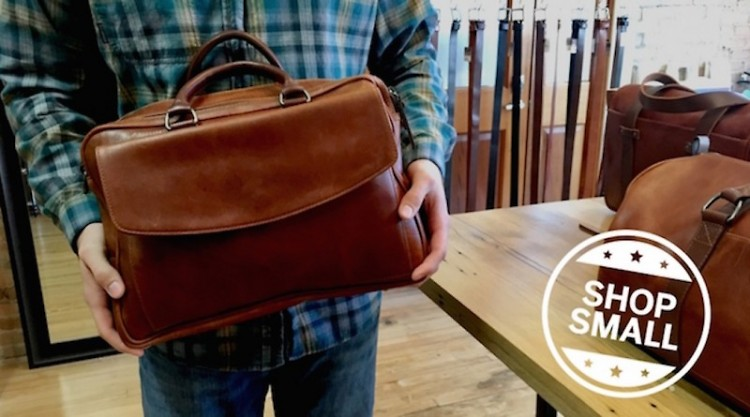 Brothers Leather Company bag