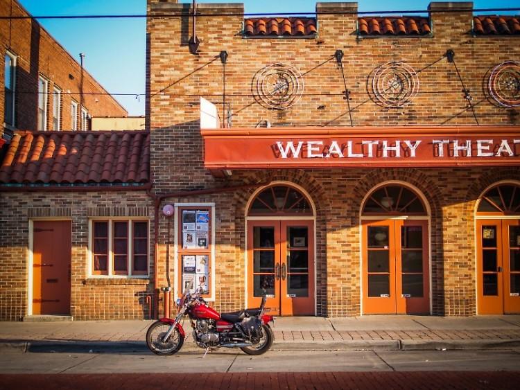 Wealthy Theatre, 1130 Wealthy St SE, Grand Rapids.