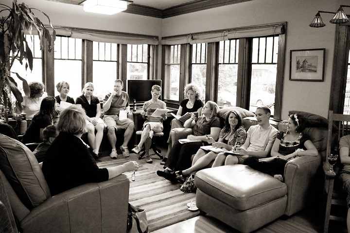 This year's Lake Michigan Writing Project participants share writing completed during the institute