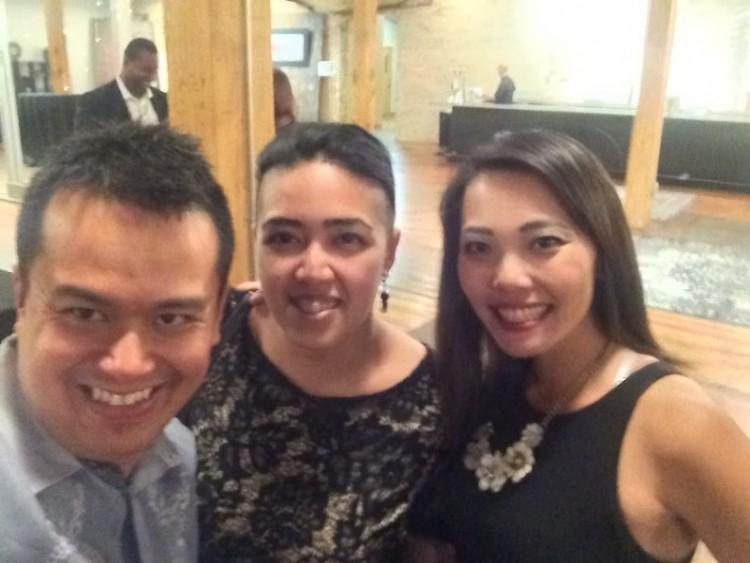 Ace Marasigan, Zyra Castillo and Katie Bozek