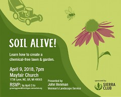 Poster for Soil Alive! event