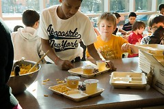 Dinner is provided at all Clubs to ensure youth receive a warm meal.
