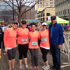 Advantage Benefits Group sponsors its employees to run the Gazelle Girl event as part of their company's wellness program.