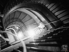 The Morton, staircase