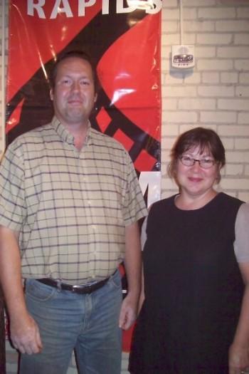 Artists David Huang & Debra Reid Jenkins, both featured in the film