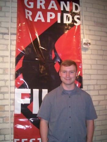 Filmmaker Sam Klee at the Grand Rapids Film Festival 2011